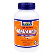 NOW Melatonin 5 mg - 60 капс.
