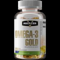 Maxler Omega 3 Gold EU - 120 капс.