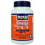 NOW Omega 3-6-9 1000 mg - 100 капс.