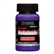 Ultimate Nutrition Melatonine 100% Premium 3mg - 60 капс.