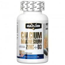 Maxler Calcium Zinc Magnesium + D3 - 90 таб.