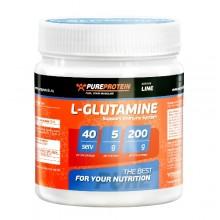 Глютамин PureProtein Glutamine - 200 гр.