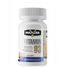 Maxler Vitamin D3 - 180 таб.